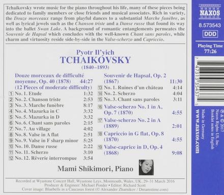 Douze morceaux, op.40