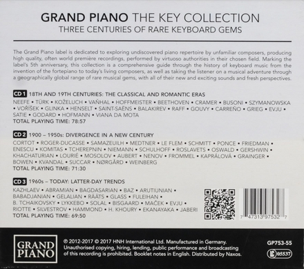 Grand piano : The key collection