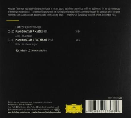 Piano sonatas D 959 & D 960
