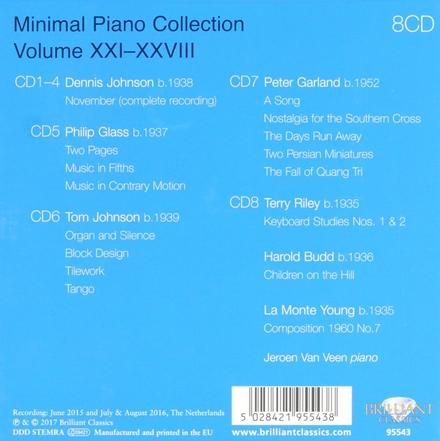 Minimal piano collection XXI-XXVIII. Vol. 21-28