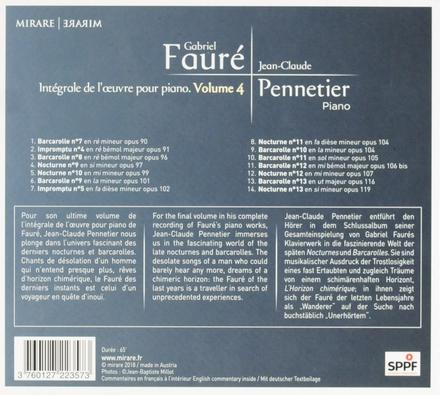 Intégrale de l'oeuvre pour piano. volume 4. vol.4