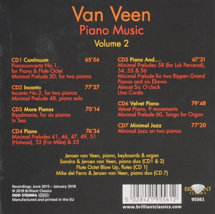 Piano music, Volume 2. vol.2