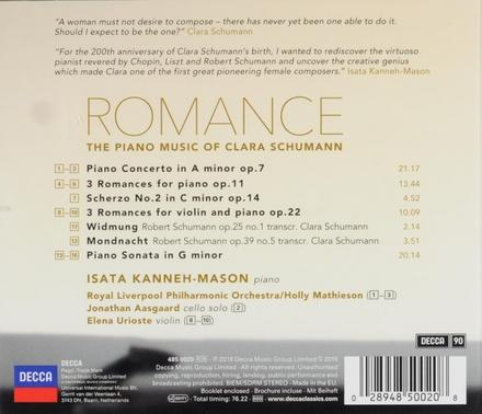 Romance : the piano music of Clara Schumann