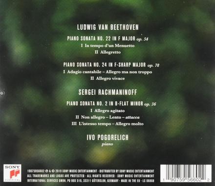 Piano sonatas opp. 54 & 78