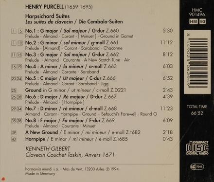 Harpsichord suites