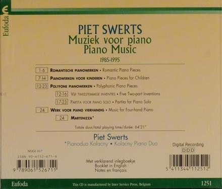 Piet Swerts speelt Piet Swerts
