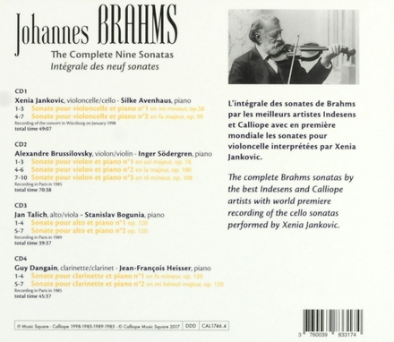 The complete nine sonatas