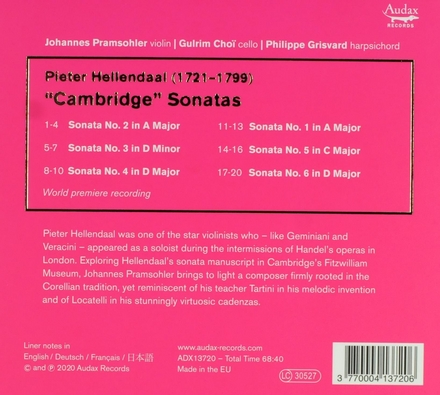 Cambridge sonatas
