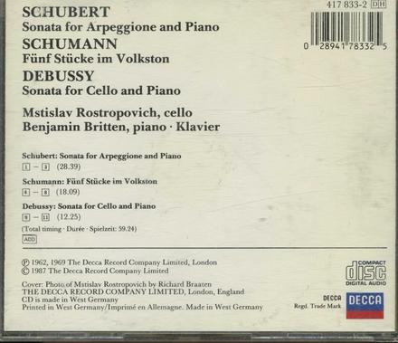 Sonata for arpeggione and piano