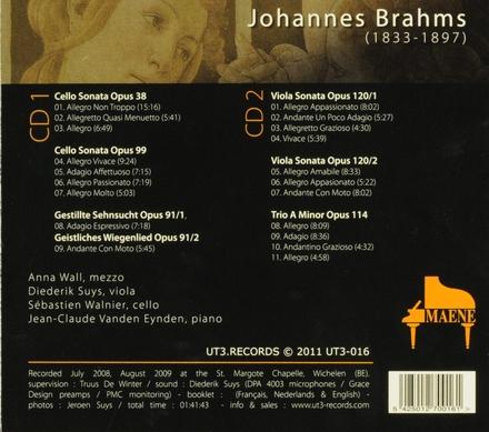 Viola & cello sonatas