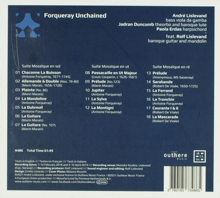 Forqueray unchained