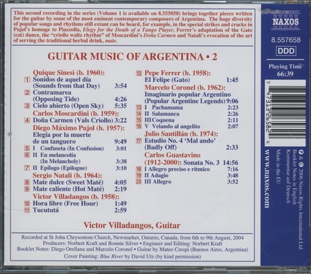 Guitar music of Argentina. Vol. 2
