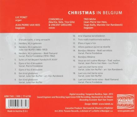 Christmas in Belgium : Vlaamse traditionele kerstliederen & chants de Noëls traditionnels wallons