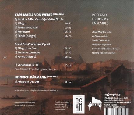 Clarinet Quintet Grand Quintetto Op. 34