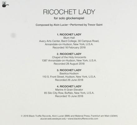 Ricochet lady : For solo glockenspiel