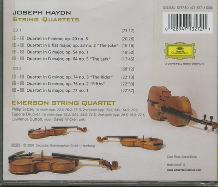 The Haydn project