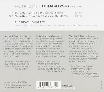 String quartets no.1 & no.3