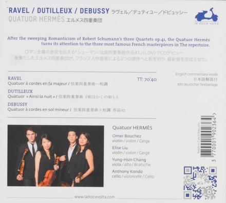 Ravel Dutilleux Debussy