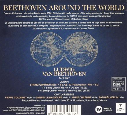 Beethoven around the world : Vienna - Op. 59 nos. 1 & 2