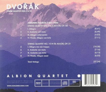 String quartets nos. 8 & 10
