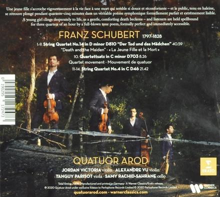 Death and the maiden : string quartets nos. 4 & 12 Quartettsatz