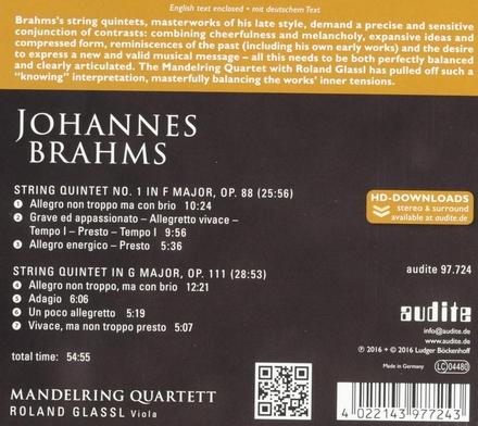 Complete string quintets