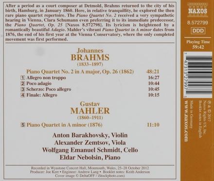 Piano quartet no.2