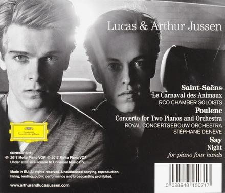 Lucas & Arthur Jussen : Saint-Saëns | Poulenc | Say