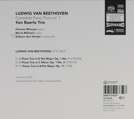 Complete piano trios. Vol. 1