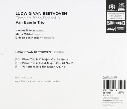 Complete piano trios. Vol. 3