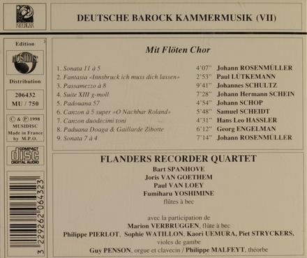 Mit Flöten Chor. vol.7