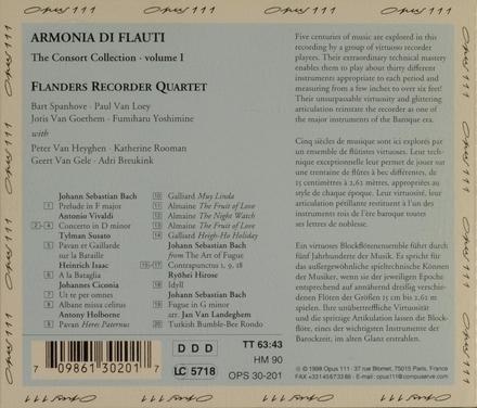 Armonia di flauti. vol.1
