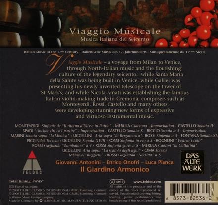 Viaggio musicale : musica italiana del seicento