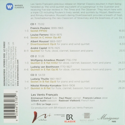 Music for winds & piano