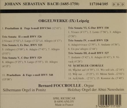Orgelwerke (IX). vol.9