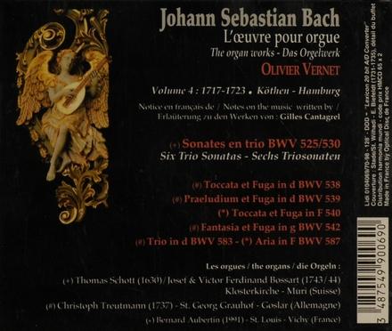 L'oeuvre pour orgue volume 4. vol.4