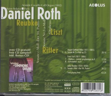 """Sonate c-moll """"Der 94. Psalm"""""""