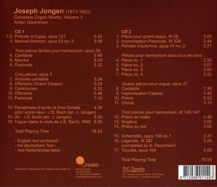 Complete organ works. Vol. 1