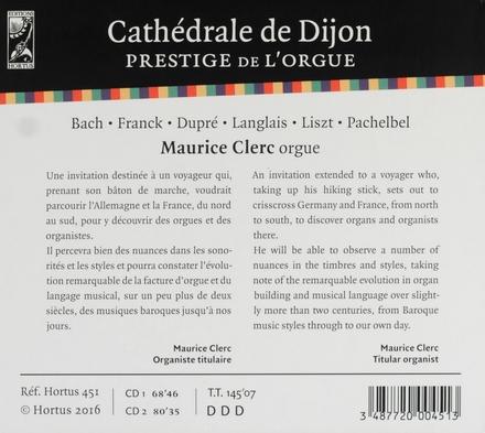 Cathédrale de Dijon : Prestige de l'orgue