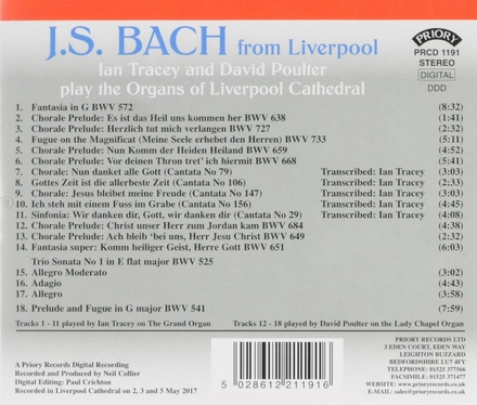 J.S. Bach from Liverpool