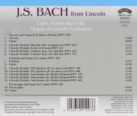 J.S. Bach from Lincoln