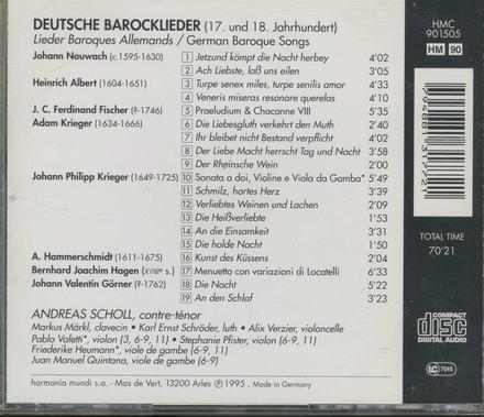 Deutsche Barocklieder