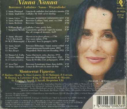 Ninna nanna : berceuses, lullabies, nanas, wiegenlieder