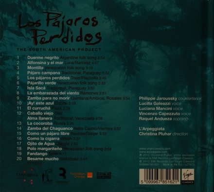 Los pájaros perdidos : the South American project