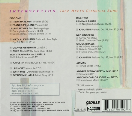 Intersection : Jazz meets classical song