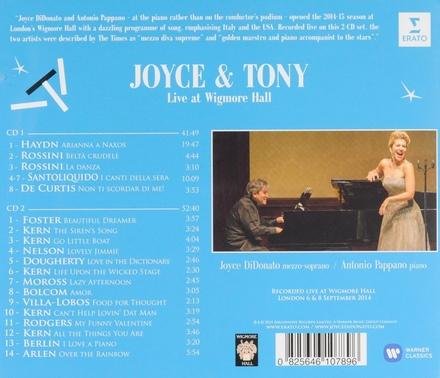 Joyce & Tony : live at Wigmore Hall