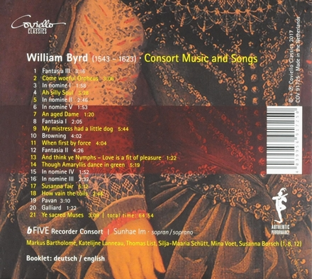 Consort music and songs