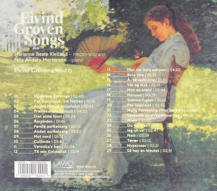 Eivind Groven songs