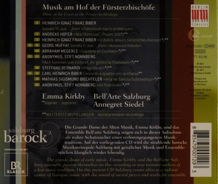 Salzburg Barock : Musik am Hof der Fürsterzbischöfe