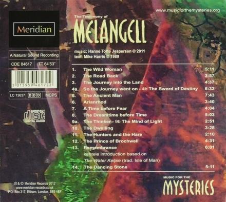 The testimony of Melangeli